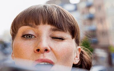 Trataka Yogic Esercizio dell'occhio