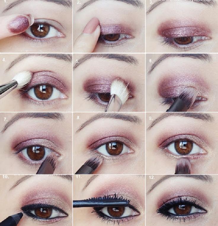 Plum oro degli occhi